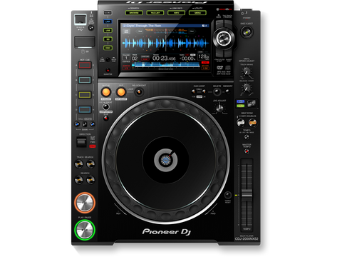 CDJ-2000NXS2 - Professional multiplayer with rekordbox software support