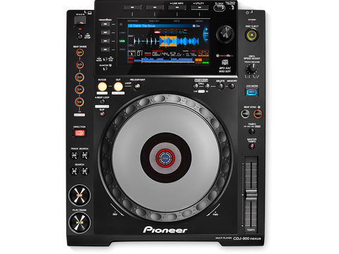 CDJ-900NEXUS - Advanced multimedia player with rekordbox software support