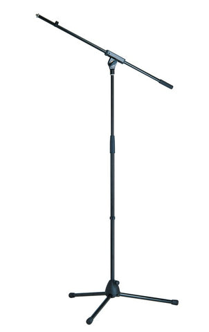 steel microphone stand with plastic base