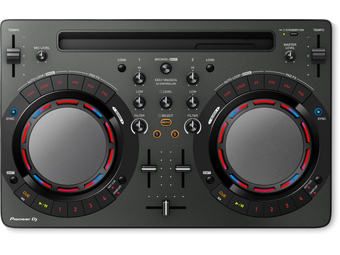 DDJ-WEGO4 - Compact DJ software controller with built-in sound card