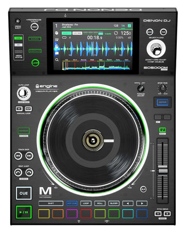 "SC5000M - Professional DJ Media Player with Motorized Platter and 7"" Multi-Touch Display"