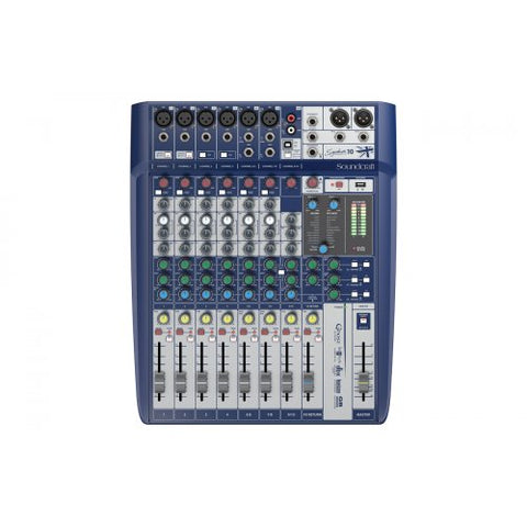 SOUNDCRAFT SIGNATURE 10 - 10CH MIXER WITH USB