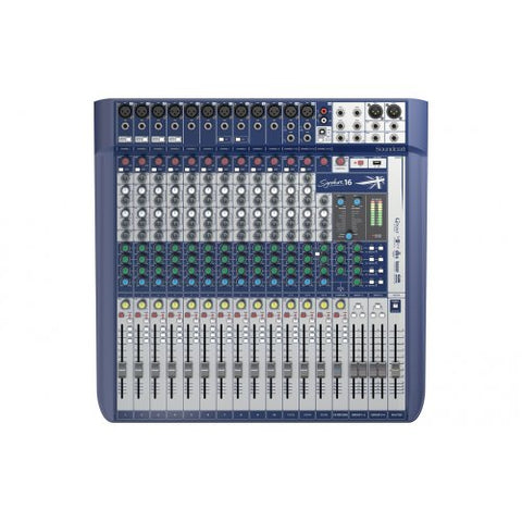 SOUNDCRAFT SIGNATURE 16 - 16CH MIXER WITH USB