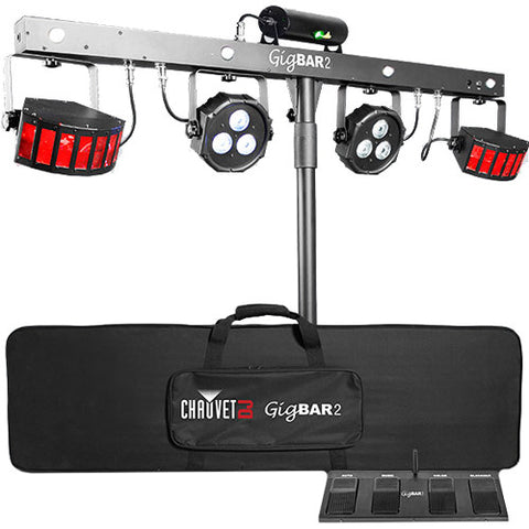 GIG BAR 2 - 4 in 1 Effect with stand and bag
