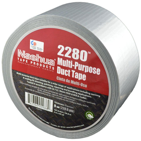 "Multi-Purpose 2"" Duct Tape Grey (180')"