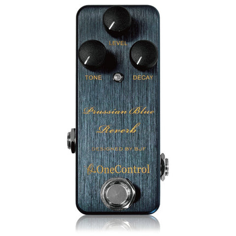 PRUSSIAN-BLUE Reverb Pedal