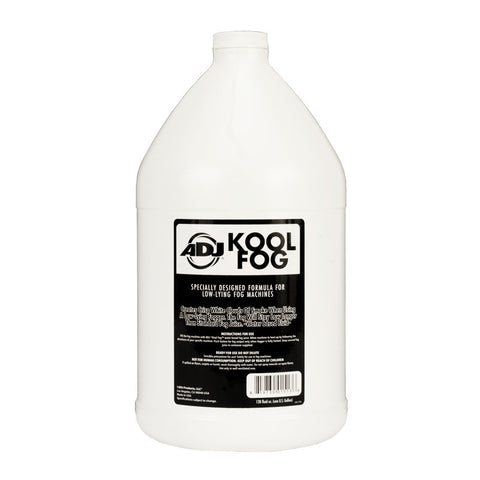 KOOL FOG - Low lying fog machine liquid gallon