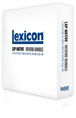 Lexicon LXP Native Reverb Plug-in Bundle - 4 AAX/VST/AU/RTAS Reverb Plug-ins