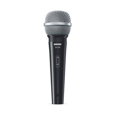 SV100 - Cardioid dynamic microphone with on/off switch
