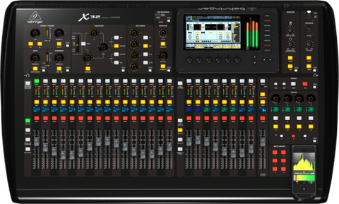 X32 - 40 inputs full digital mixing board