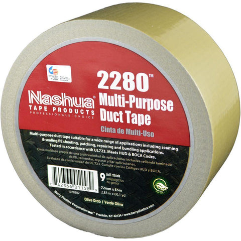 "Multi-Purpose 2"" Duct Tape Yellow (180')"