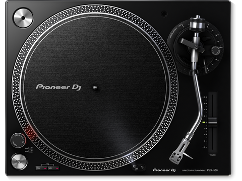Pioneer PLX-500 - High-torque, direct drive turntable with S-type tone arm