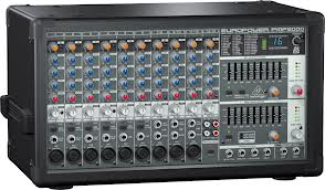 1600-Watt 10-Channel Powered Mixer with Dual Multi-FX Processor