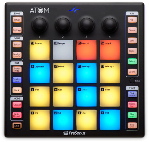 ATOM - Production and Performance Pad Controller