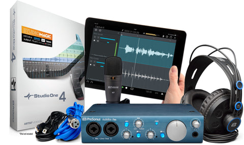 AudioBox iTwo Studio - Complete mobile recording kit for Mac, Windows, and iPad.