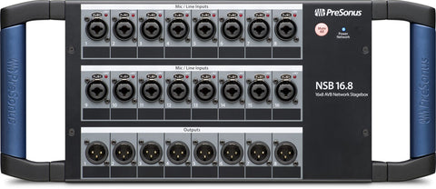 NSB 16.8 - 16x8 AVB-networked stage box