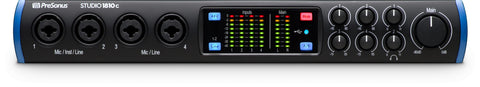 STUDIO 1810C - USB-C 24-bit/192 kHz, USB 2.0 18x8 audio interface (8x8 at 192 kHz)