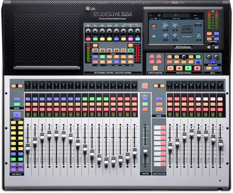 StudioLive® 32SX - 32-channel digital mixer and USB audio interface
