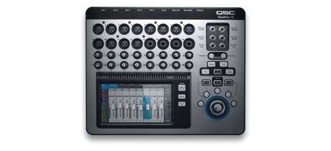 TOUCHMIX-16 - 16-channel digital mixer with touchscreen and carrying case.