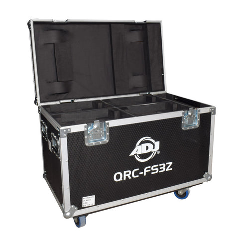 QRC-FS3Z - Road case for 4 moving head