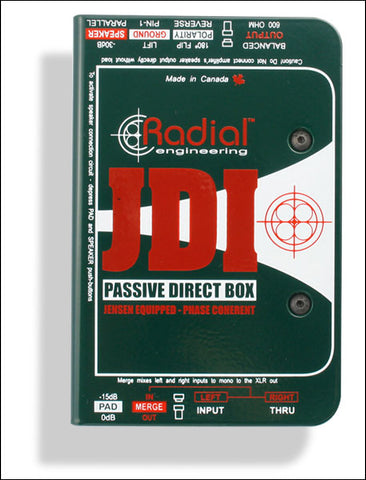 Radial Passive Direct Box