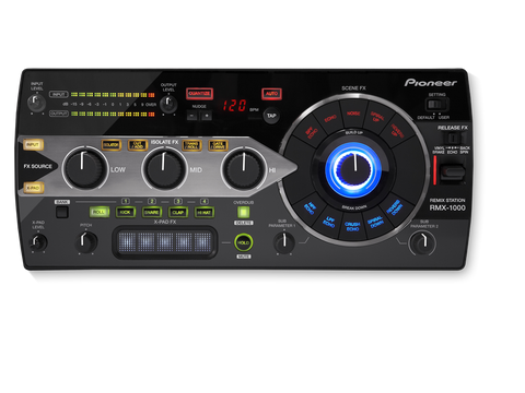 Pioneer RMX-1000-K - 3-in-1 remix station for editing, performing and controlling for VST/AU/RTAS plug-ins