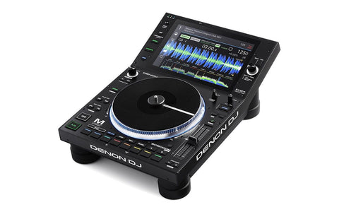 "DENON SC6000M - Professional DJ Media Player with 8.5"" Motorized Platter and 10.1"" Touchscreen"