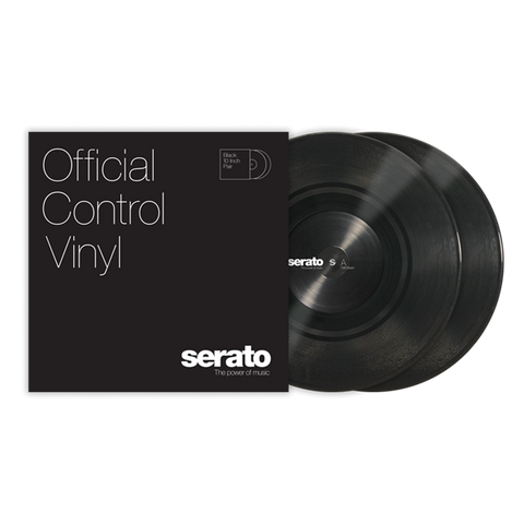 "10"" Serato Standard Colors (Pair) Black"