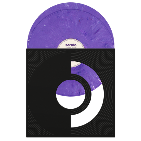 "12"" Control Vinyl Limited Edition Purple Rane X Serato Pressing (Pair)"