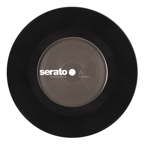 "7"" Serato Standard Colors - Black (Pair)"