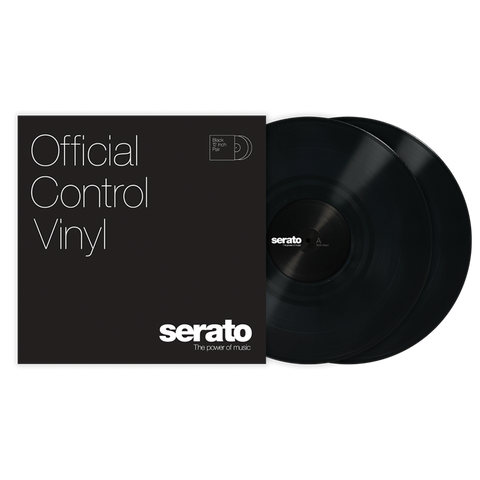 "SERATO SCV-PS-BLK-OJ VINYL 12"" BLACK (PAIR)"