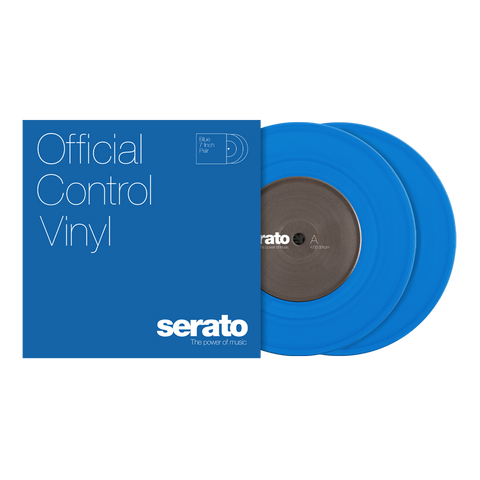 "7"" Serato Standard Colors - Blue (pair)"