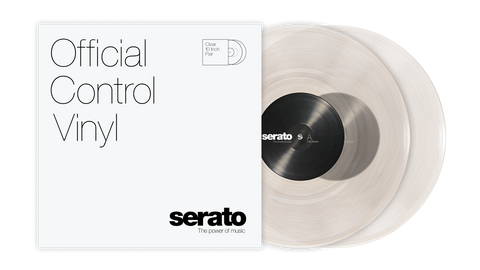 "10"" Serato Standard Colors (Pair) CLEAR"