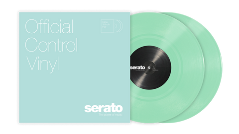 "10"" Serato Standard Colors (Pair) Glow in the Dark"