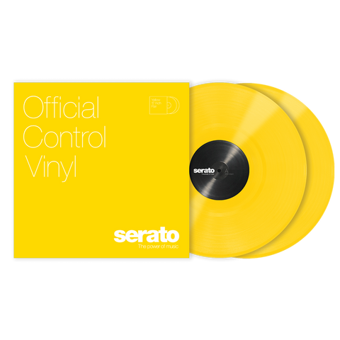"SERATO SCV-PS-YEL-OV VINYL 12"" YELLOW (PAIR)"