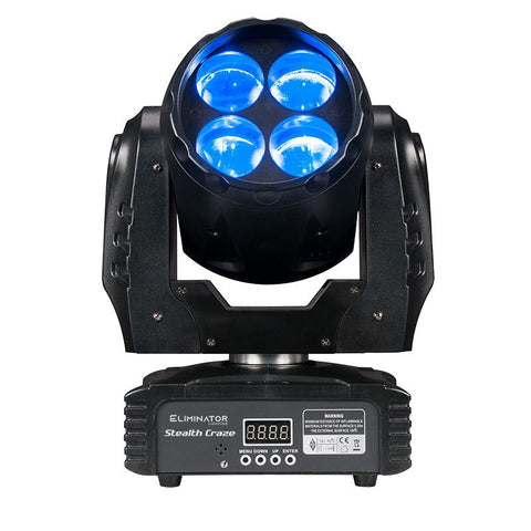 Eliminator Stealth Craze moving head