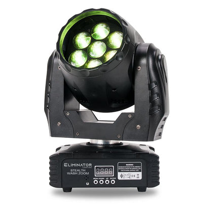 Eliminator Stealth Wash Zoom moving head