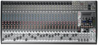 Ultra-Low Noise Design 32-Input 4-Bus Studio/Live Mixer