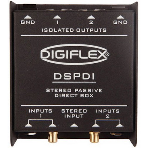 DSPDI - Dual channel passive direct box
