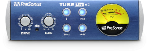 TubePre V2 - 1-channel Tube Preamplifier/DI Box