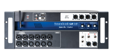 SOUNDCRAFT UI16 - 16-INPUT REMOTE-CONTROLLED DIGITAL MIXER