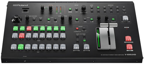 V-600UHD4K - Professional multi-format video switcher