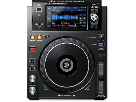 Pioneer XDJ-1000MK2 - Multimedia player with large colour LCD display