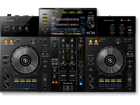 "Pioneer XDJ-RR - All-in-one rekordbox dj system with large full colour central 7"" LCD touchscreen"