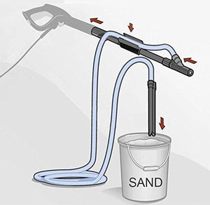 (Last Day Promotion 50% OFF)High Pressure Washer Wet Sand Blasting Kit