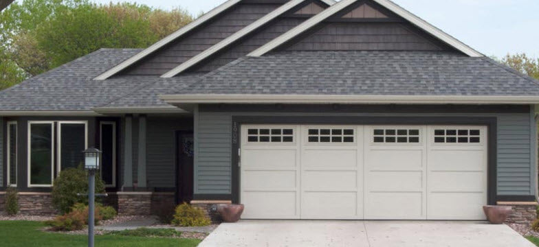 courtyard collection carriage style garage doors