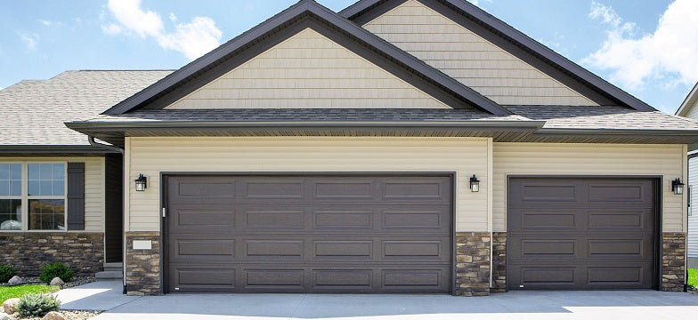 traditional steel garage door collection
