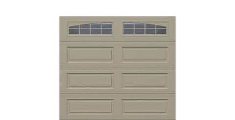 9' x 8' Traditional Steel Garage Door (Long)