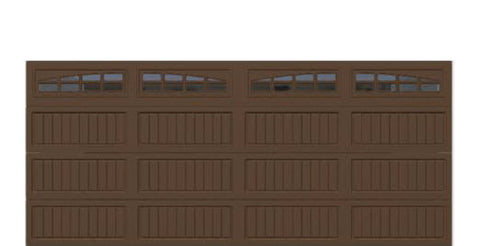 16' x 7' Thermacore Insulated Steel Garage Door (V10)