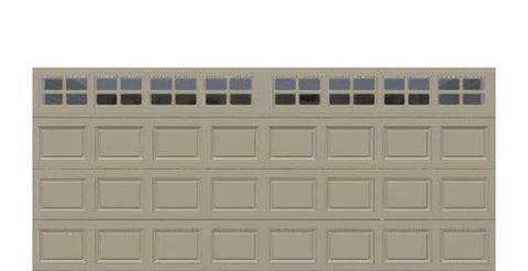 16' x 7' Thermacore Insulated Steel Garage Door (Standard)